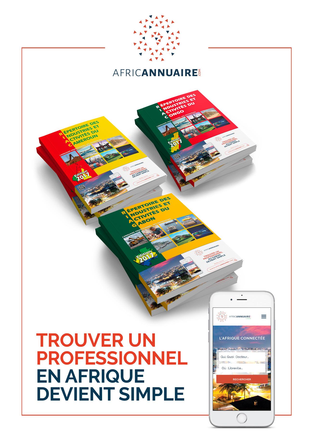 Annuaires d'afrique annuaire, du Congo, du Gabon et du Cameroun