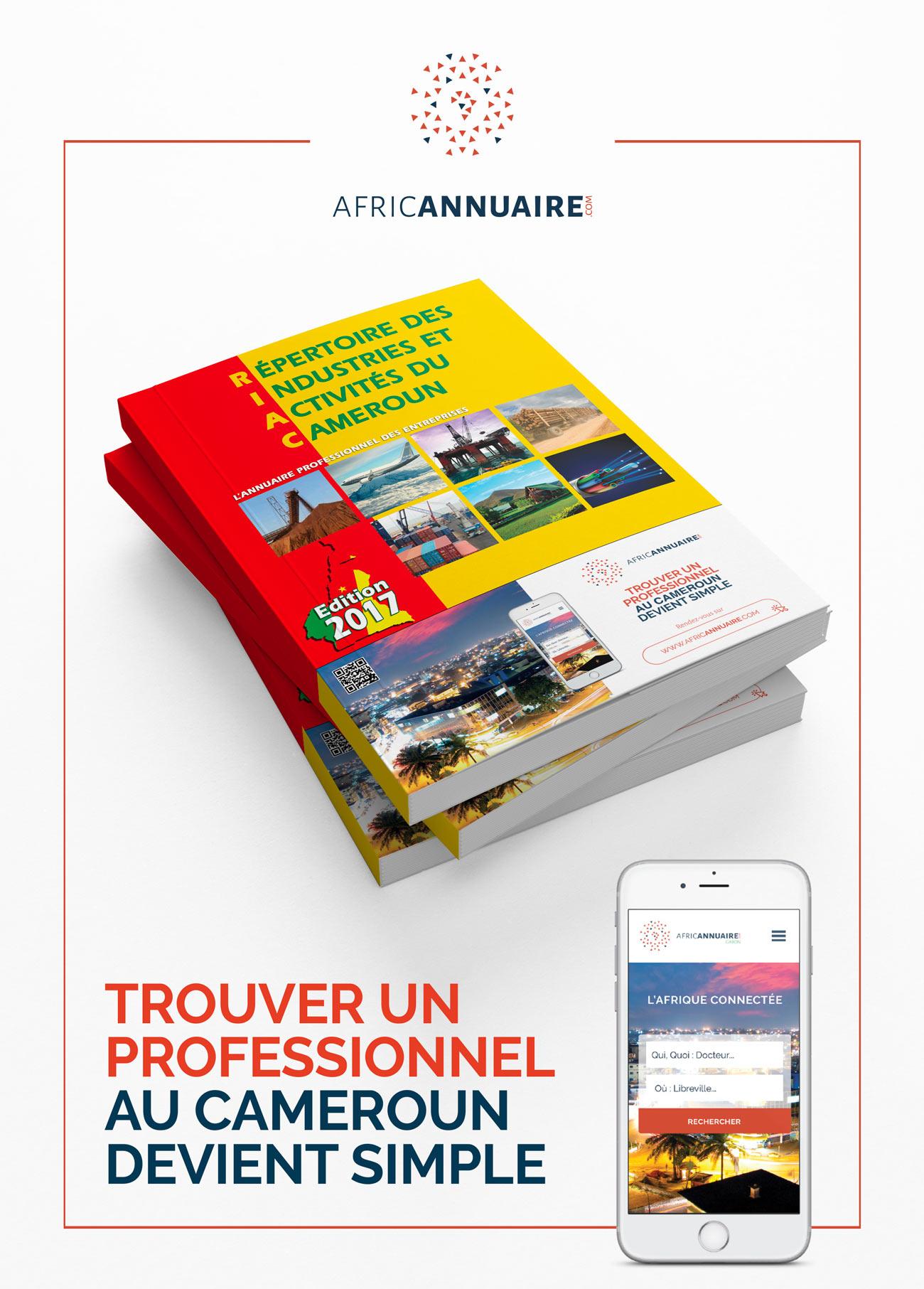 Annuaire papier du Cameroun est maintenant disponible en ligne
